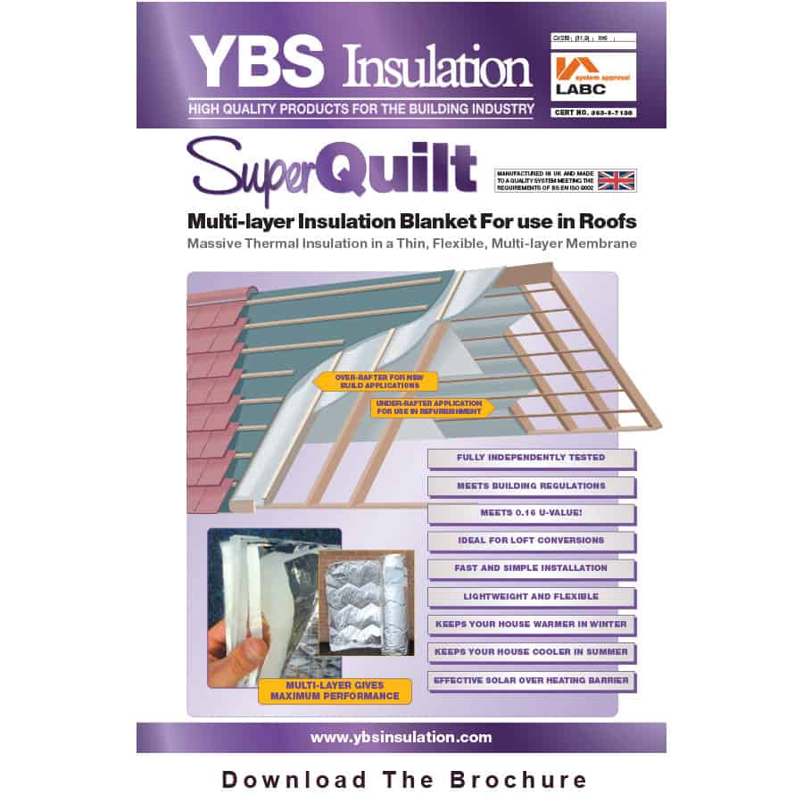 Conservatory Roof Insulation Systems Amp Superquilt Uk