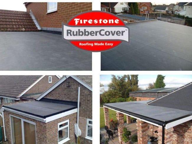 Firestone EPDM Rubber Roofing & Rubberised Garage Roof